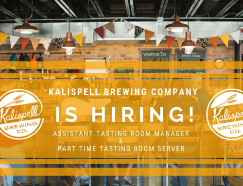 Looking for some extra beer benefits? Come work for KBC!